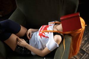 PERSONA 5 - Futaba Sakura [4] by Akaomy
