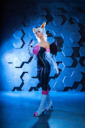 Rouge the Bat COSPLAY [4] by Akaomy