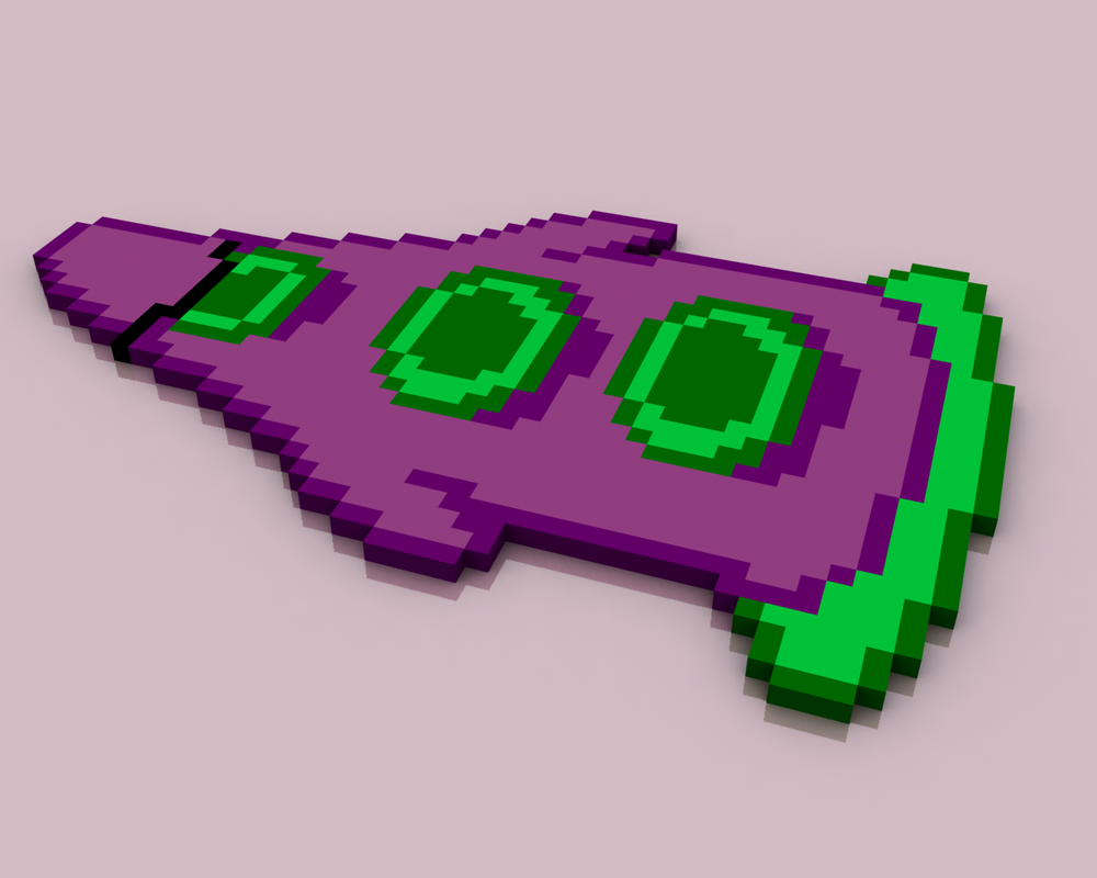 Purple Tentacle by itsklicken