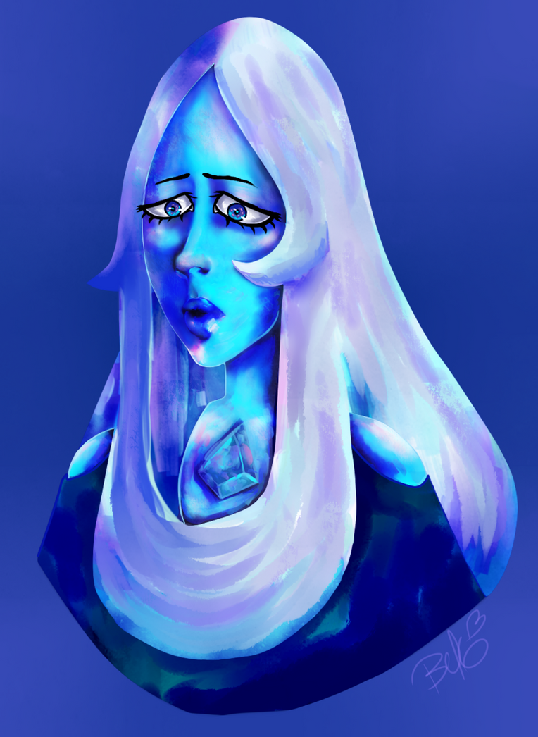 Blue Diamond- Color Practice by PoeticTorment