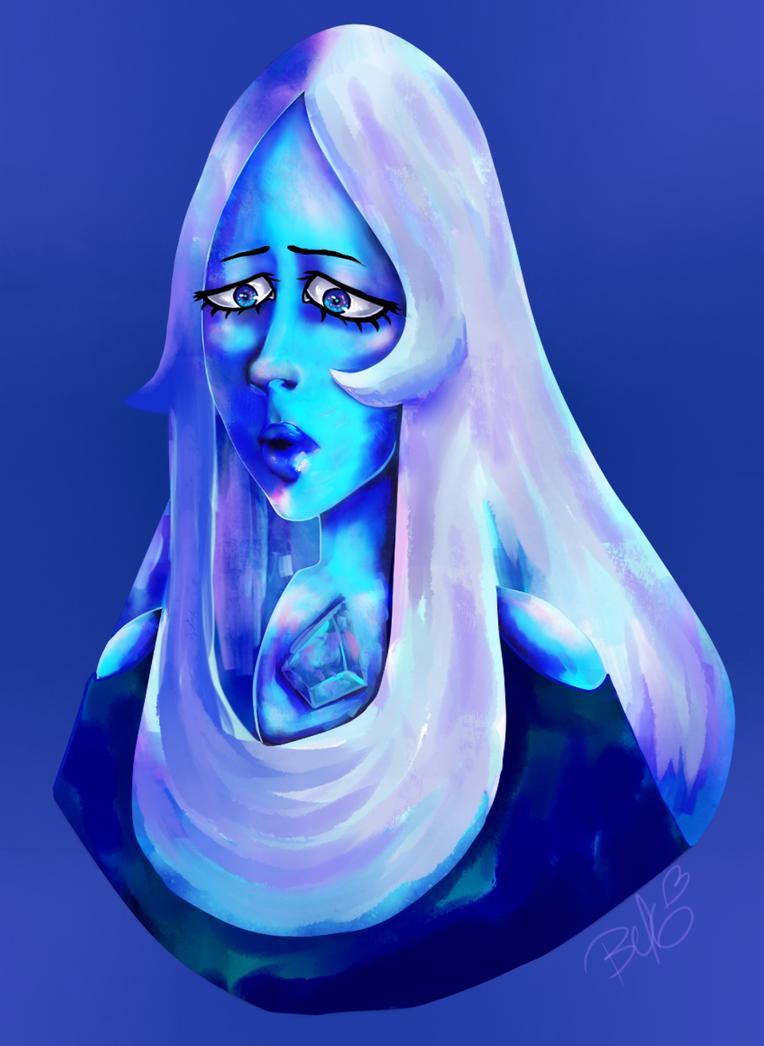 Blue Diamond- Color Practice by PoeticTorment