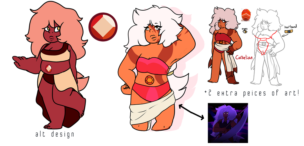 Carnelian (FOR SALE) by morrysillusion
