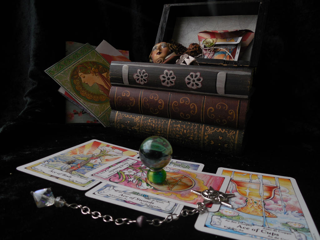 Stock- Gypsy Witch Spell Box 6 by AmberSeree