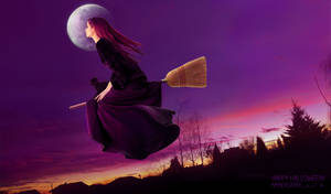 Happy Halloween! (Purple Halloween)