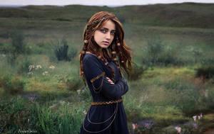 Wren - Poetess of the Tuatha de Dannan by AmberSeree
