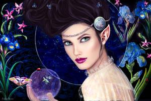 Harmonae - Keeper of the Spheres by AmberSeree