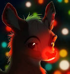Rudolph The Rednosed Something by Wreckham