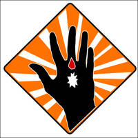 Corrosive Material Sign by iixRainexii