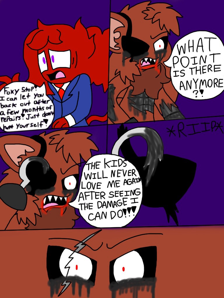 The story of foxy and the bite of 87 pg 41 by shinysmeargle on