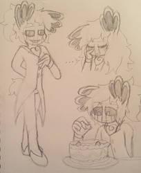 Servant Marionette Doodles by ShinySmeargle