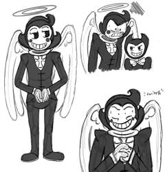 Gabriel BatIM OC Doodles by ShinySmeargle
