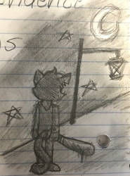 Criminology Mae Doodle by ShinySmeargle