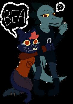 Bea Deserves Hugs .:Night in the Woods:.