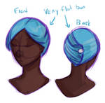 Gawain's new hairstyle