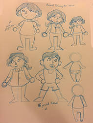 [C-] AC manuel sketches