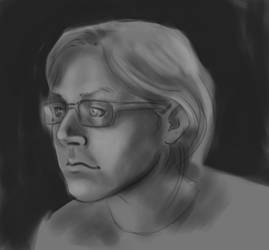 painting exercise - self portrait