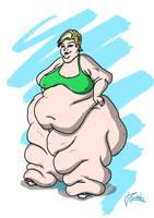 REWARD: Fat-legged Girl by theKoudelka