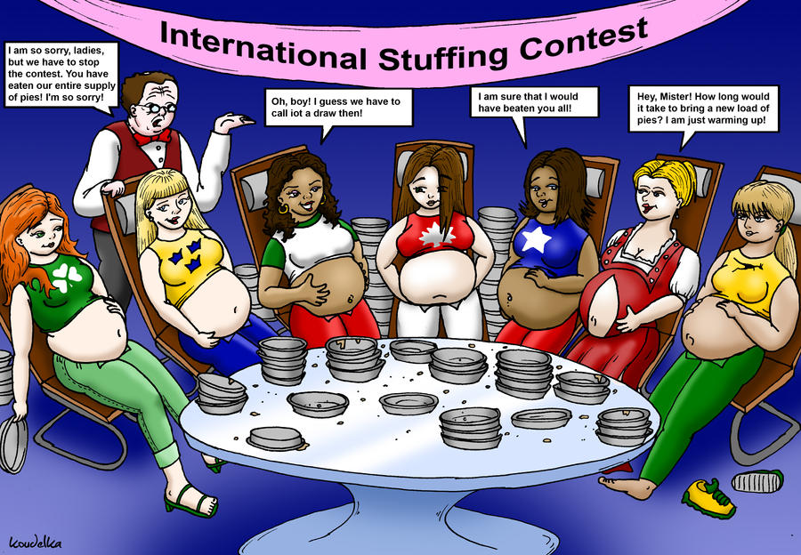 Weight gaining contest