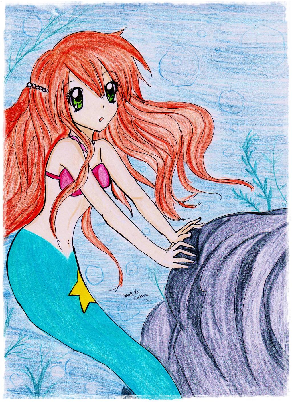 Mermaid Misty by MoritoSakura