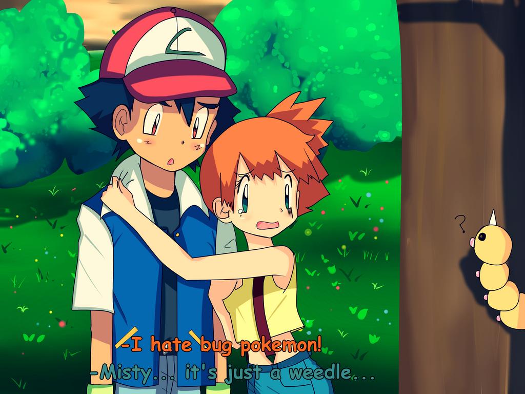 Pokemon Ash X Misty Kiss Images | Pokemon Images