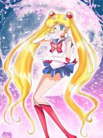 Sailor Moon by StarMVenus