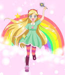 Star Butterfly Anime Style