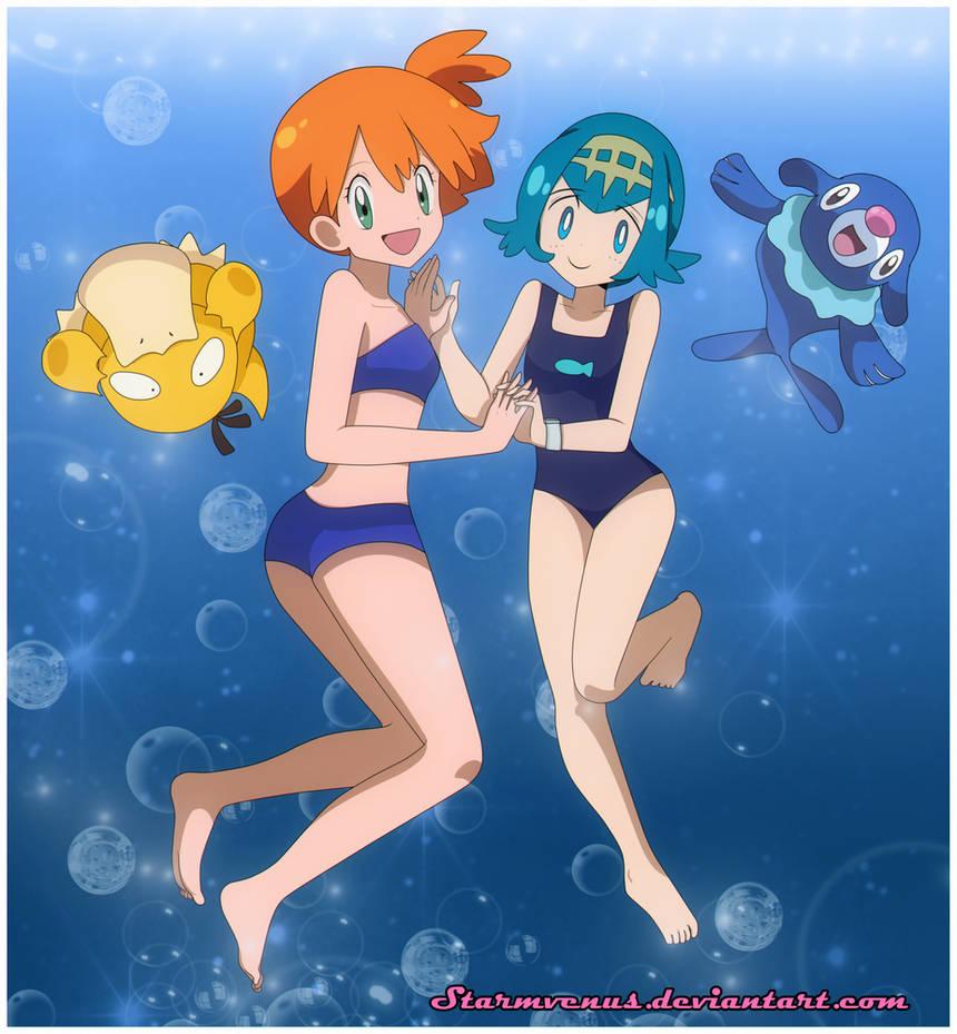 Kasumi and Suiren by StarMVenus