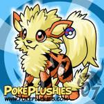 PokePlushies- Arcanine Plushie