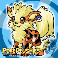 PokePlushies- Arcanine Plushie by cartoonist