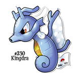 Kingdra Patchwork