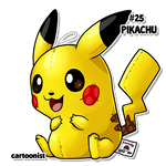 #25 Pikachu
