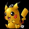 25 Shiny Pikachu by cartoonist