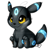 197 Shiny Umbreon by cartoonist