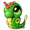 10 Caterpie