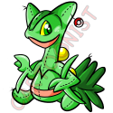 Pokemon- Sceptile Plushie by cartoonist