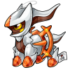 493 Fire Arceus by cartoonist