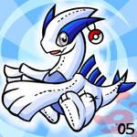 Pokemon- Lugia Plushie