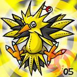 Pokemon- Zapdos Plushie
