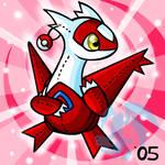 Pokemon- Latias Plushie