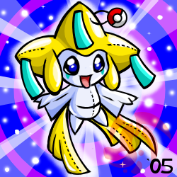 Pokemon- Jirachi Plushie by cartoonist