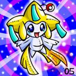 Pokemon- Jirachi Plushie