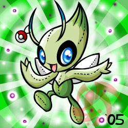 Pokemon- Celebi Plushie (Gift) by cartoonist