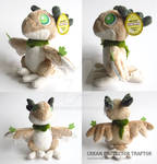 Cream Protector Traptor Plushie