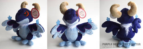 Purple Destroyer Traptor Plushie