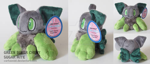 Green Sugar Mite Plushie