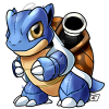 9 Blastoise by cartoonist