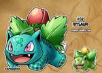 #02 Ivysaur