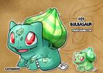 #01 Bulbasaur