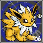 Pokemon- Jolteon Stuffie