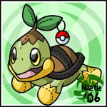 Pokemon- Naetle Stuffie
